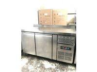 2 door commercial bench freezer, under counter freezer
