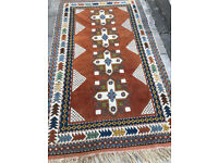 Rug 90 in x 52 in , in good condition , with great colours. feel free to view free local delivery