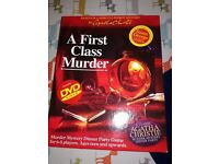 Murder mystery dinner party game!