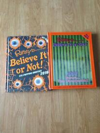 Ripley's believe it or not books