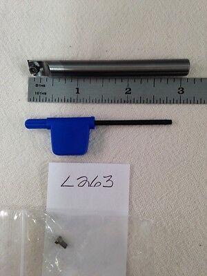 1 New Iscar 8 Mm Shank Carbide Boring Bar. Mg 08-stfpr-09x.  3 Oal L263
