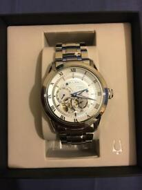 New Men's Bulova Stainless Steel Bracelet Watch