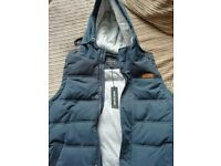 River Island Hooded Gillet