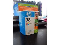 SEALED HP45 inkjet cartridge,HP inkjet cartridge 41 tri-colour, HP15 black, HP78 tri-colour