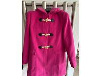 Girls duffle coat aged 12. Brand new