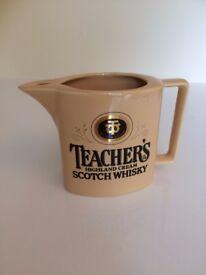 Teachers Whisky Pub Water Jug
