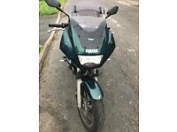 Yamaha xj 600cc motorcycle