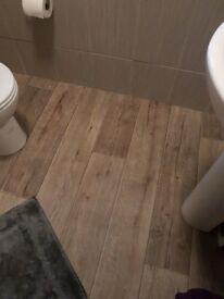 Luxury Vinyl Oak Flooring (2m x 1.65m)