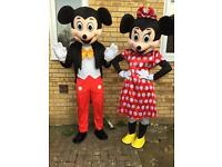 Minnie and Mickey costumes. Brand new