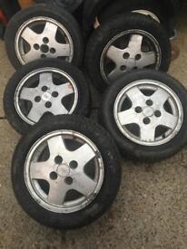 Ford Fiesta xr2i 185/55R14 80H alloys