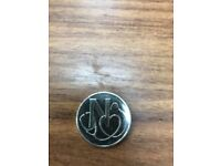 Rare 10p coin with letter N at the back
