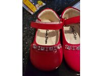 Size 1 red shoes