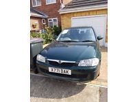 Mazda 323f- Low Mileage- Very Good Condition-12 months MOT- £550 ono