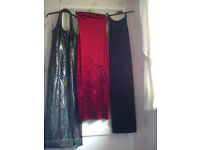 Collection of Ladies Clothes - party dresses etc. Sizes 8 & 10 - approx £5 each.