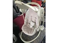 Mamas & papas starlite swing chair
