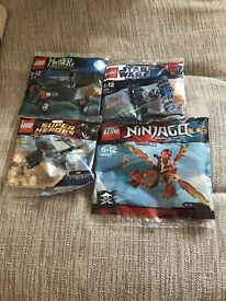 Lego Polybag. Star Wars, Avengers, Ninjago, Monster Fighters. Individual Prices