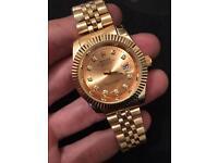 Full Gold Rolex watch Datejust , 40mm (gold face)