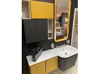 Ex-Display Vanity Units, Cupboards and Mirror - Ceresa Italian Furniture