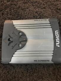 Fusion 2 channel 900 watts amplifier