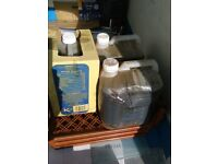 Used vegetable oil approx 55litres