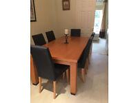 Lovely Beech dining table originally from John Lewis