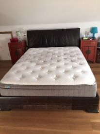 King Size Leather Bed