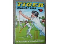 Vintage Tiger Annual 1979 -The Best Sports Action And Adventure