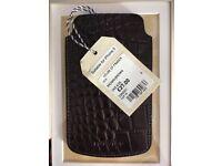 Leather i phone 5 case BNWT