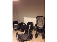iCandy Peach Stroller with attachments!!!