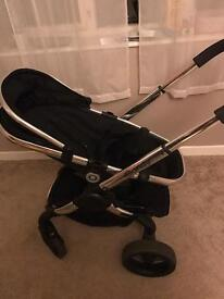 icandy peach 3 pushchair with peach 2 carrycot.
