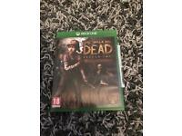 Xbox one game (The Walking Dead Season 2) Telltale game