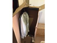 Removal boxes. Inc wardrobe hanging boxes.
