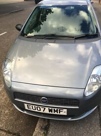 FIAT GRAND PUNTO 1.2 PETROL MANUAL 98850 mileage with full service history, ONE FORMER KEEPER ONLY