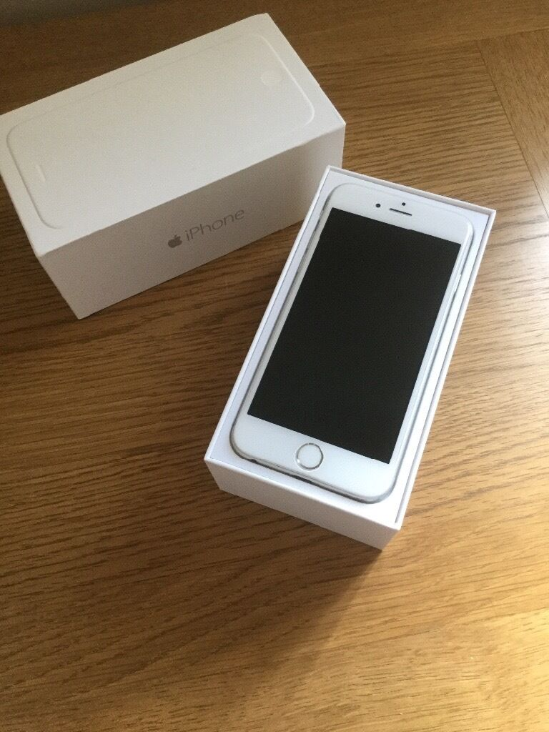 apple iphone 6 silver 16gb in wirral merseyside gumtree. Black Bedroom Furniture Sets. Home Design Ideas