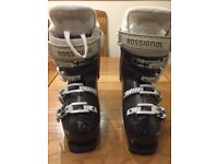 Womans Rossignol Ski boots. Worn Once. Size 22 - 23.5