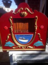 Wanted Christmas fairground organ music on cd or cassette
