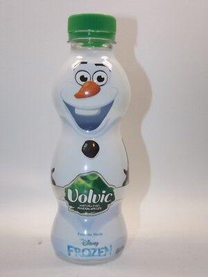 Mineralwasser Frozen Olaf Flasche 0,33 l Neu Voll  limited edition Volvic