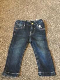Baby girls Dkny jeans