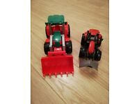 Toy tractor x 2