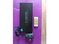 HDMI Switch: Etekcity® 6x2 Matrix Splitter (Sky,PS3,PS4,XBOX,Chrome Cast, Firestick, Blu Ray, DVD)