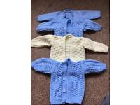 Baby cardigans 0-3 months