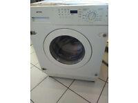 Smeg integrated washing machine