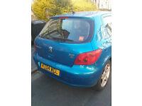 2004 Peugeot 307 HDi for Spares or Repairs