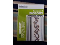 Nat 5 Biology Practice Papers