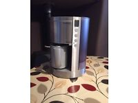 Russell Hobbs Kudos Filter Coffee Maker in Silver