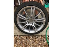 "18"" BMW MSport Alloys - Including Winter Tyres"