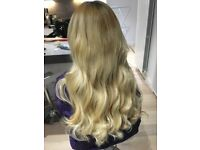 £65 FULL HEAD MICRO & NANO RING HAIR EXTENSIONS/PRE-TAPE EXTENSIONS AND BRAZILIAN KERATIN TREATMENT