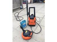 Vax 2000w pressure washer and patio cleaner