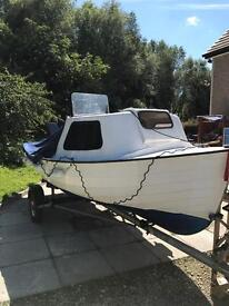 BOAT - Strangford 16 with 15hp outboard and road trailer