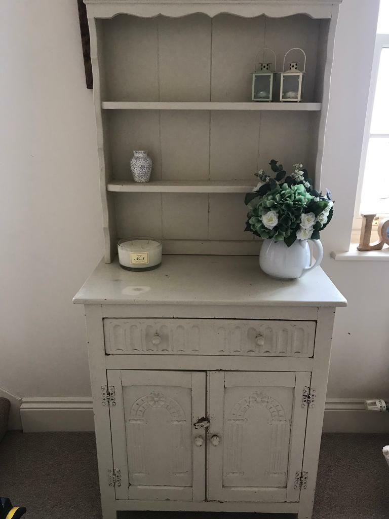 Home Entertainment Shabby Chic French Tv Stand Cabinet With 5